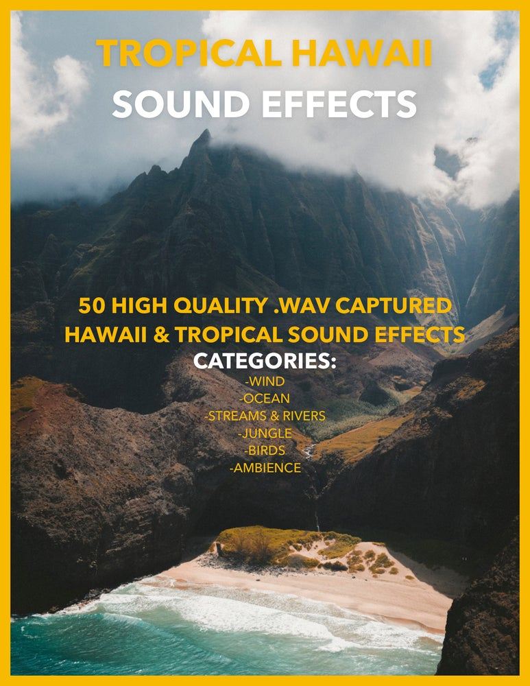 Image of TROPICAL HAWAII SOUND EFFECTS PACK VOL.1