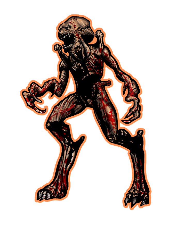 Image of Pumpkinhead by Gibson Graphix