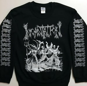 "Image of Incantation "" Blasphemous Cremation "" Sweatshirt"