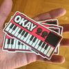 OKAY 2 Sticker