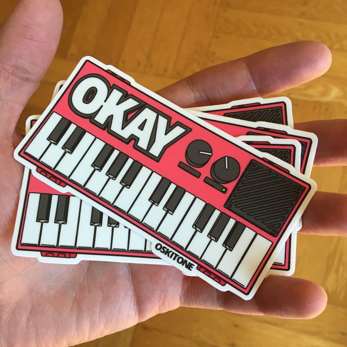 Image of OKAY 2 Sticker