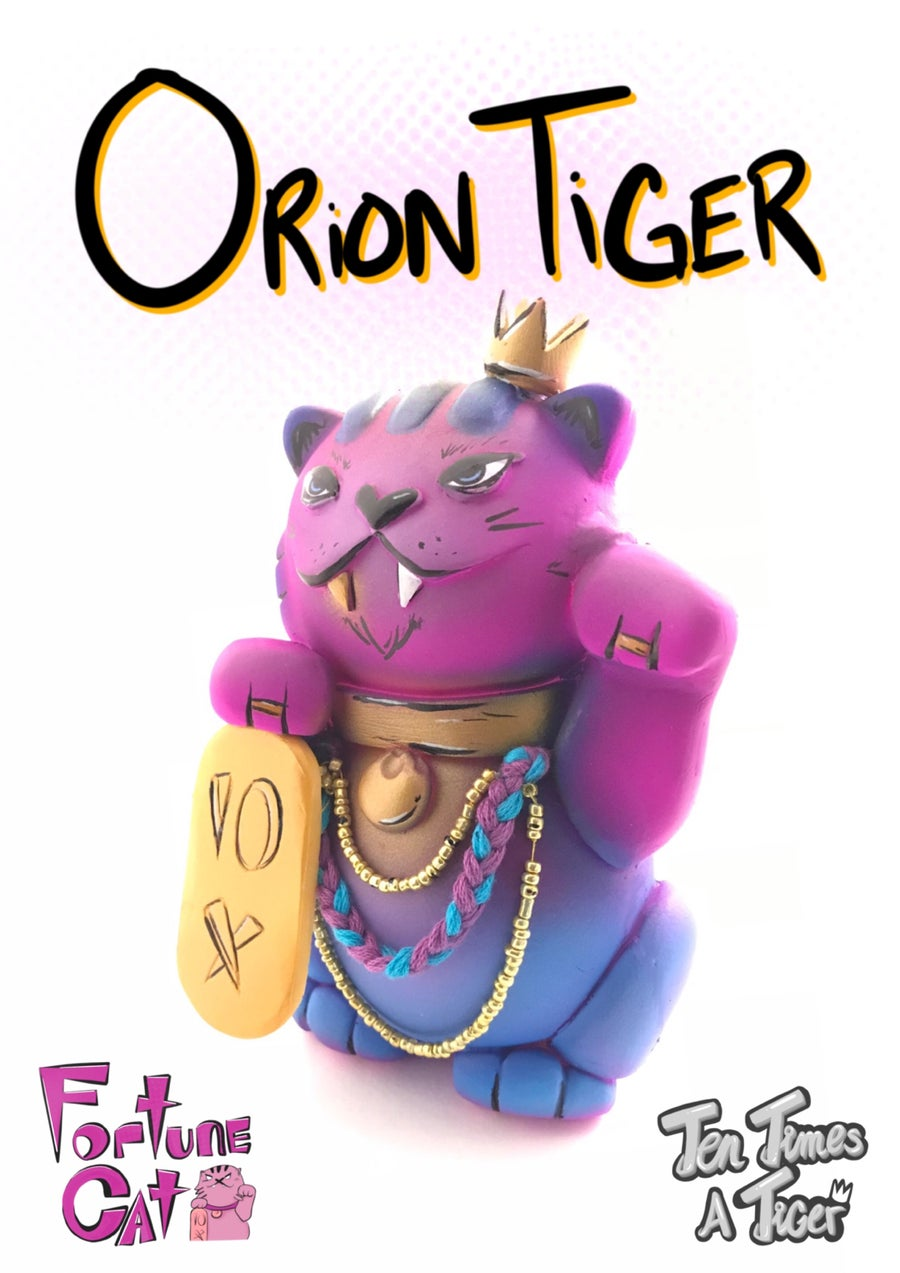 Image of Fortune Cat: Orion Tiger