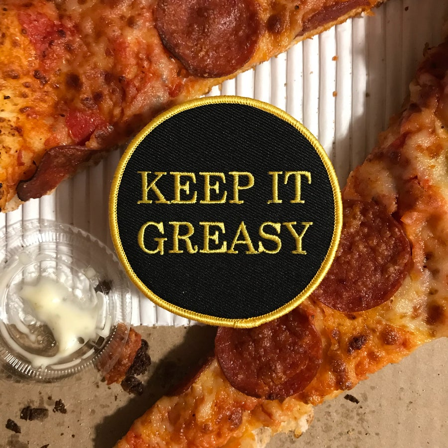 Image of Keep It Greasy Patch