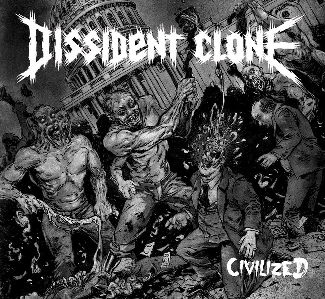 "Image of DISSIDENT CLONE ""CIVILIZED"" CD - ALMOST SOLD OUT!"