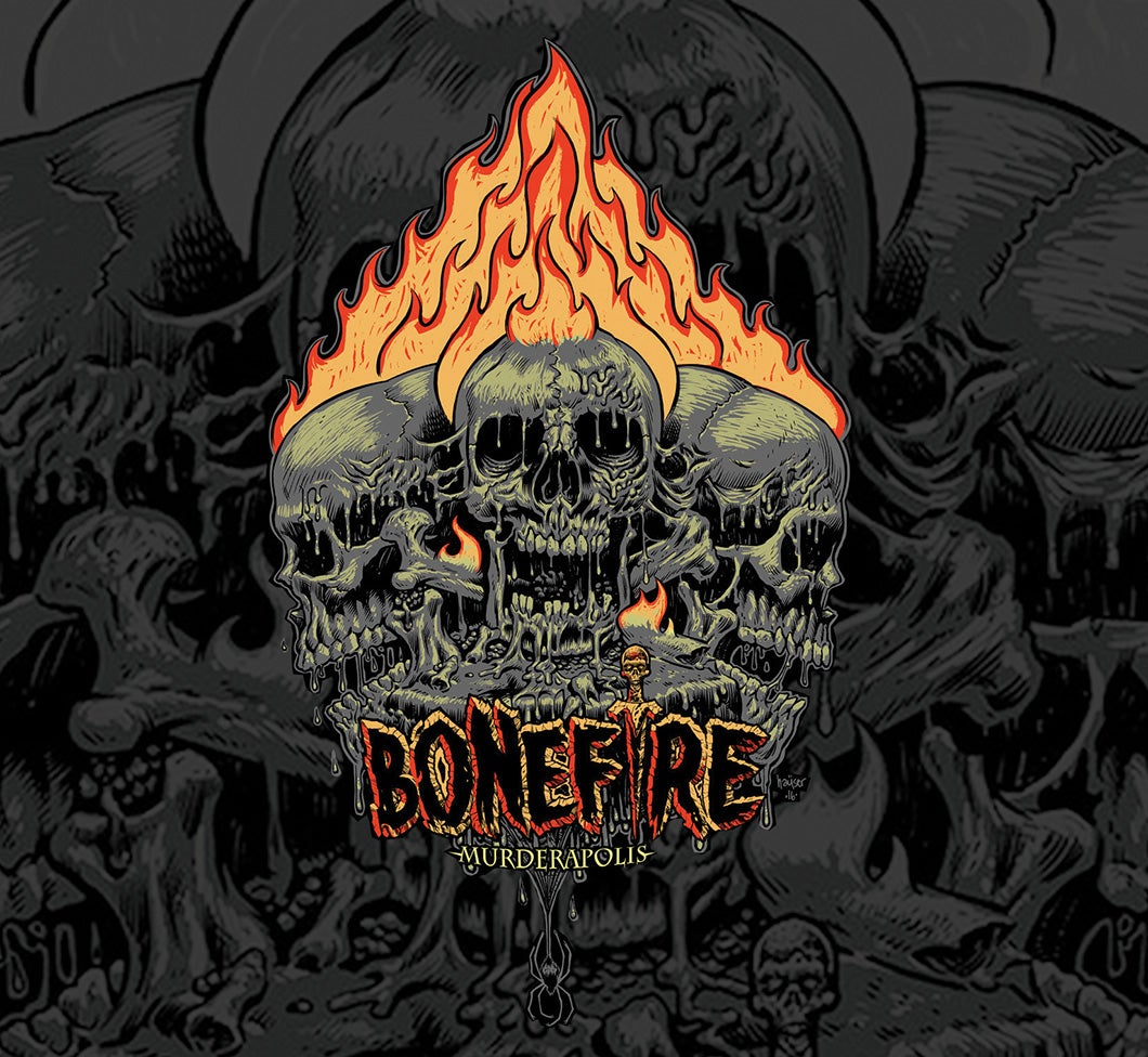"Image of BONEFIRE ""MURDERAPOLIS"" CD - SOLD OUT!"