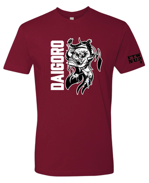 "Image of DAIGORO ""WELL HUNG DEMON"" RED SHIRT"