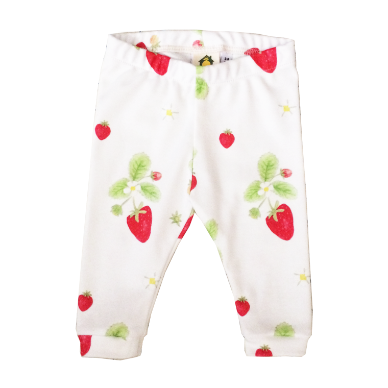 Image of Strawberry Organic Leggings