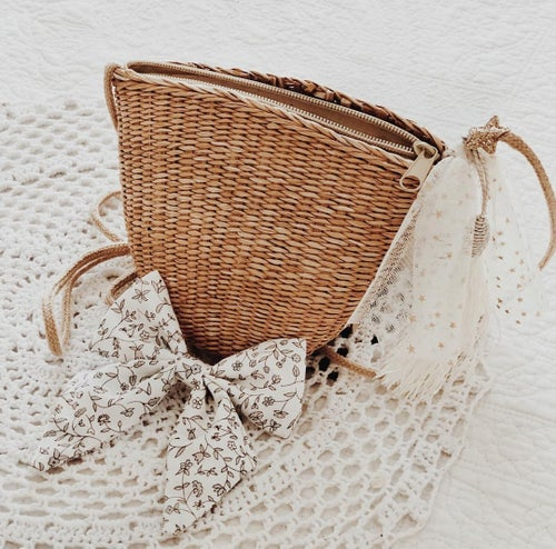 Image of Woven Tassel bags