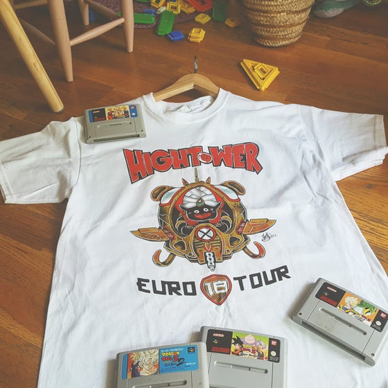 "Image of EURO TOUR TSHIRT ""DBZ"" + print + button"