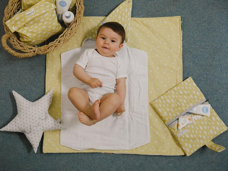 Image of Fasciatoio da borsa neonato