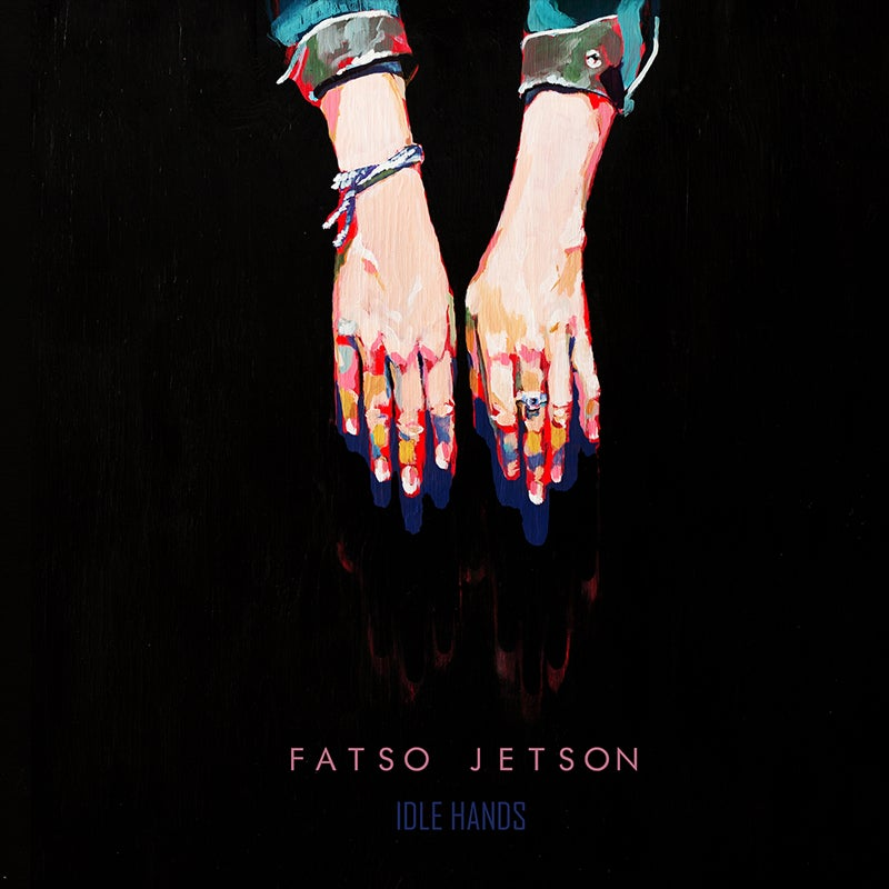 Image of FATSO JETSON - IDLE HANDS Blue Vinyl