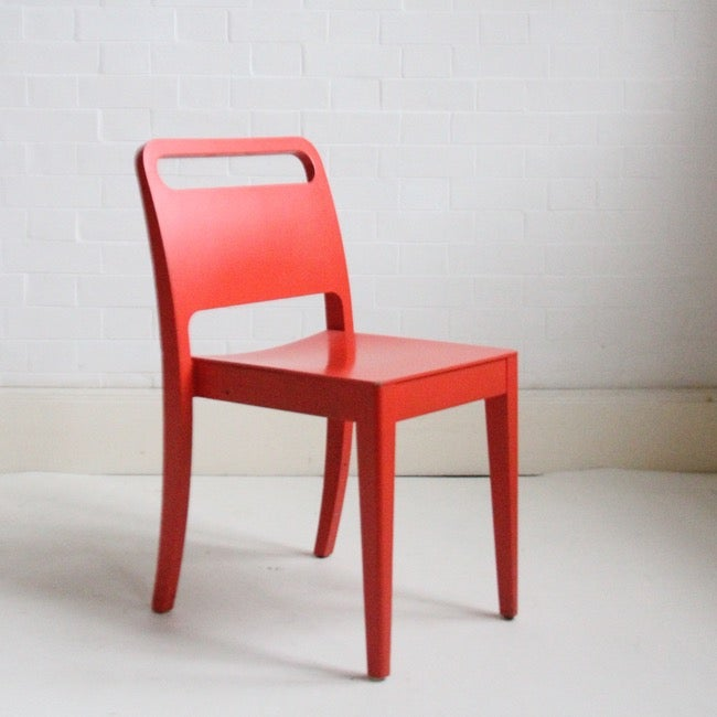 Image of Retro modernist style chairs