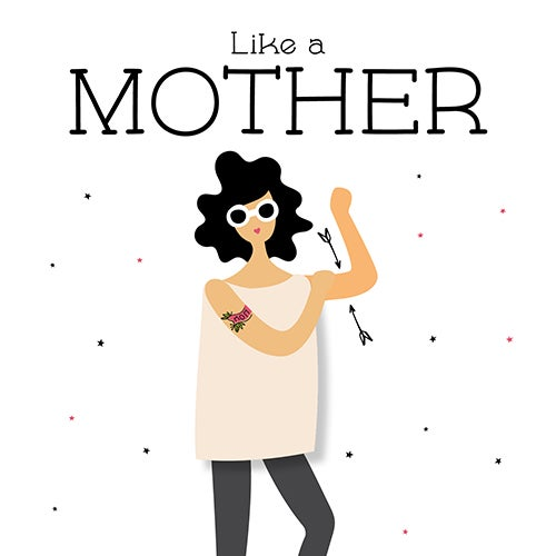 Image of Like a Mother notecard