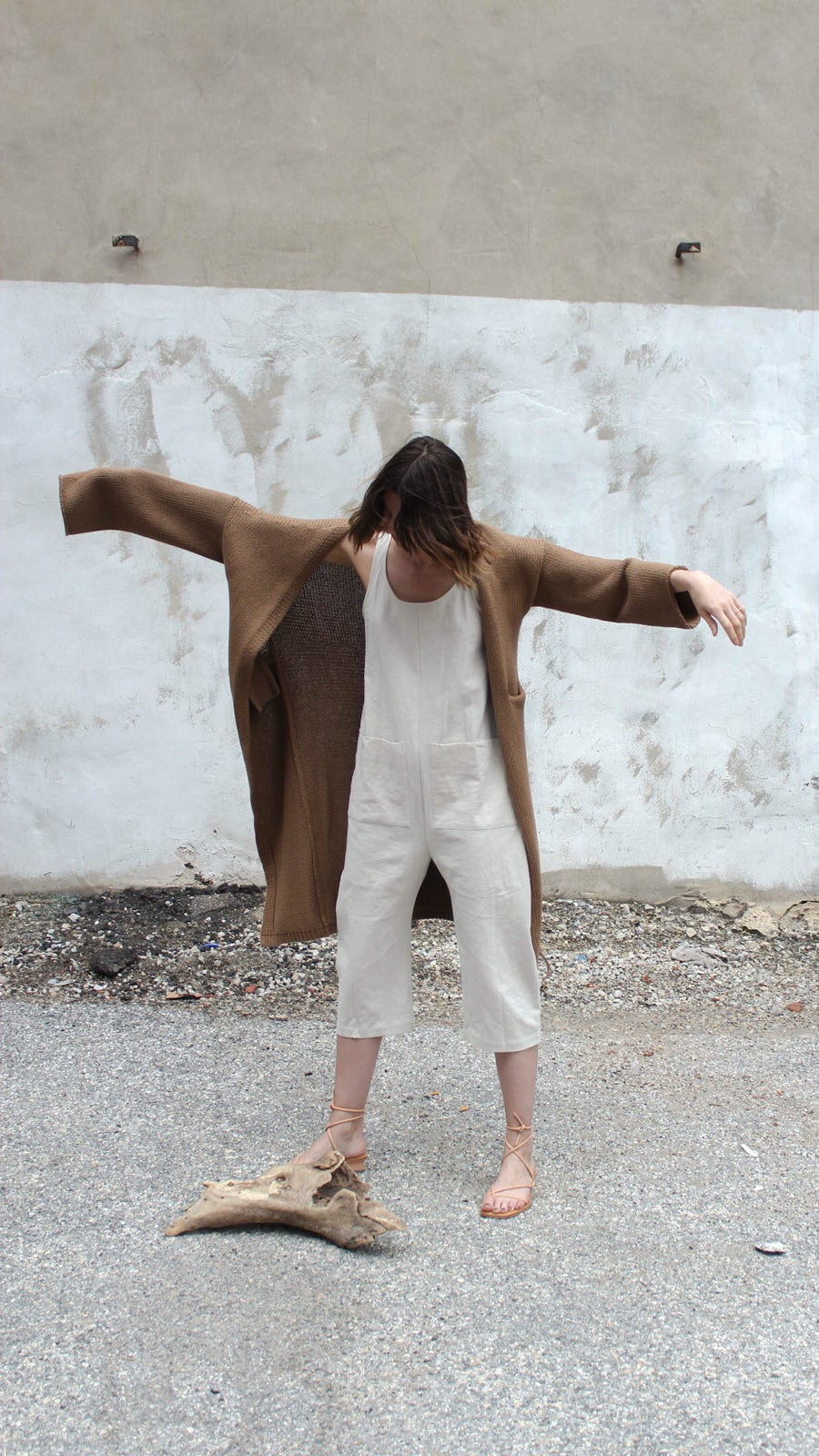 Image of Lauren Manoogian Long Open Cardigan