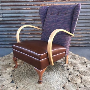 Image of MCCOY Wingback Chair