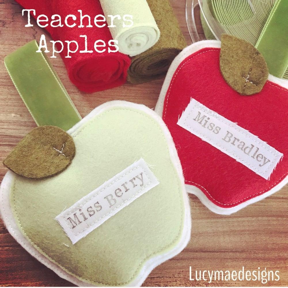 Image of Teachers apples