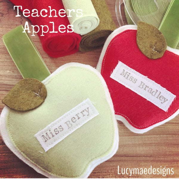 Image of Teachers apples