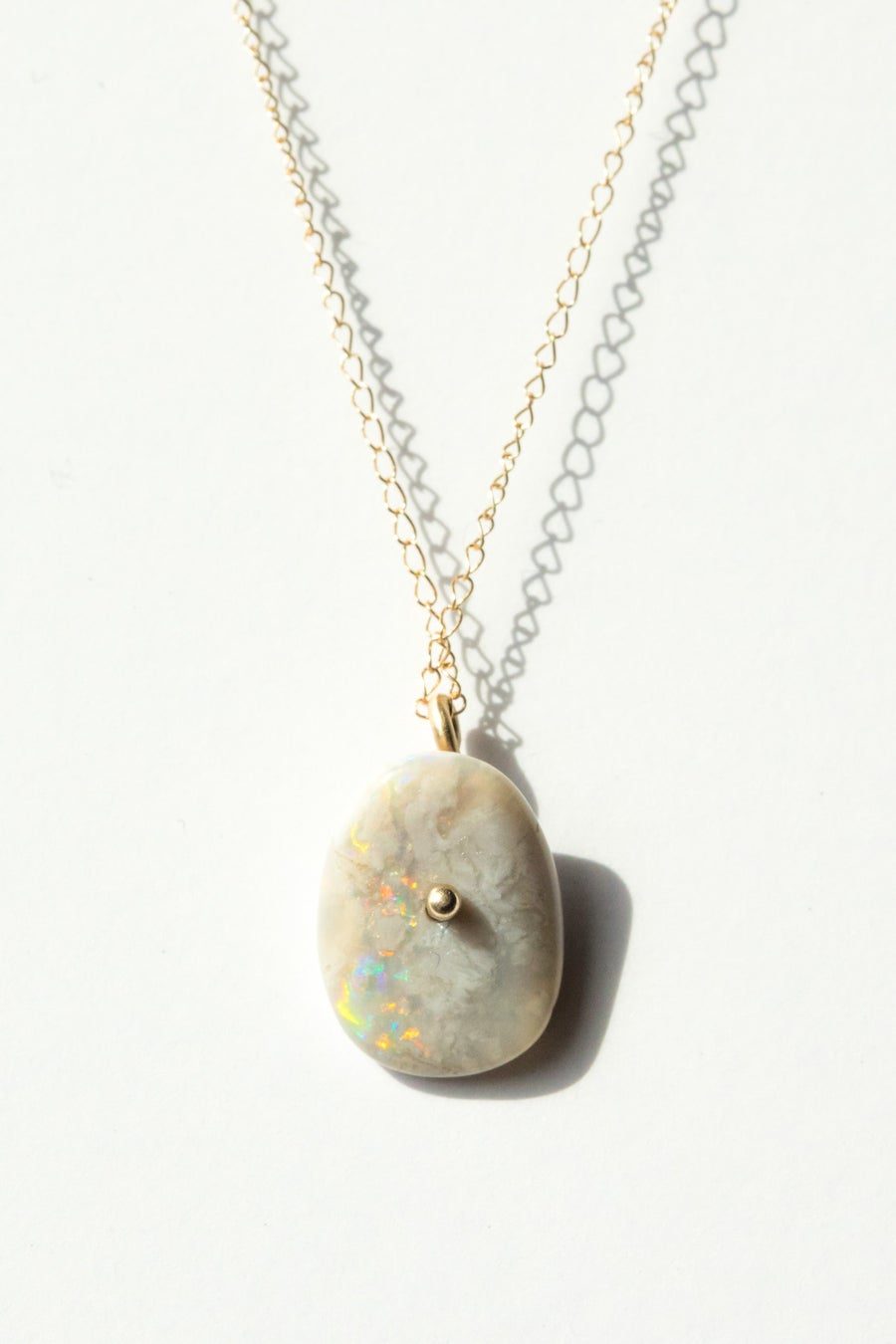Image of Raw Opal Necklace