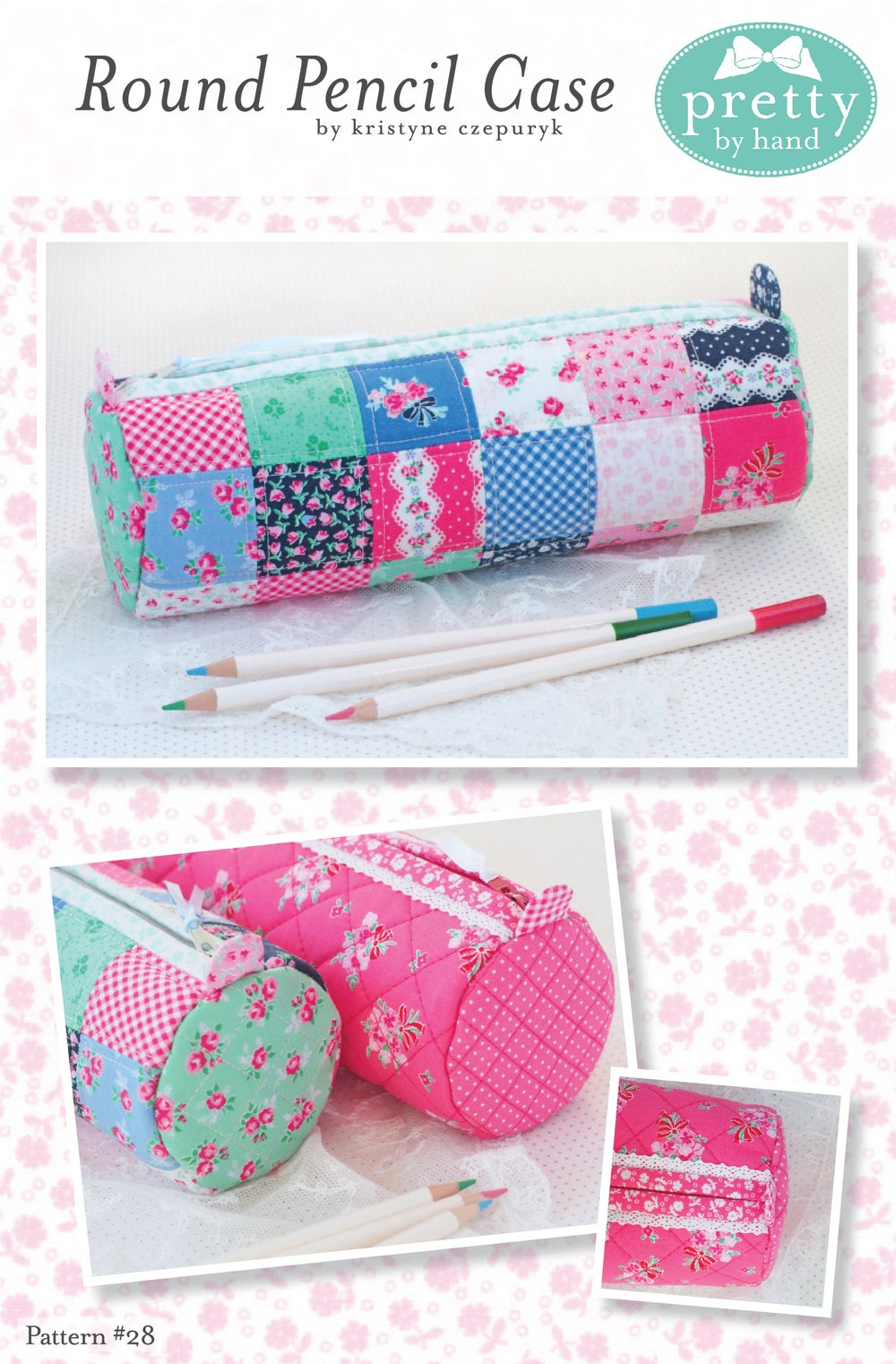Image of PDF - Round Pencil Case Pattern