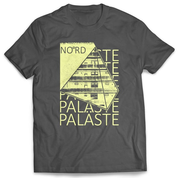 Image of Paläste - Shirt - Anthrazit/Gelb