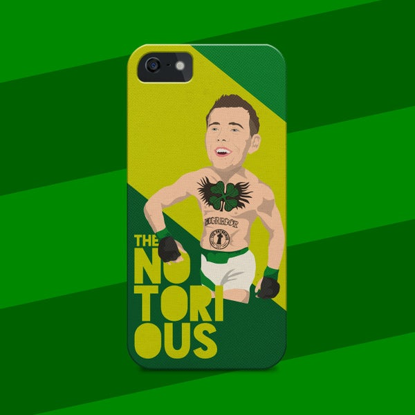 Image of The Notorious Callum McGregor phone case