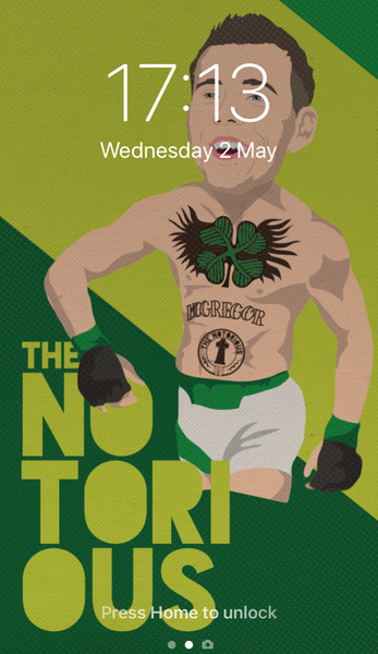 Image of The Notorious Callum McGregor phone wallpaper