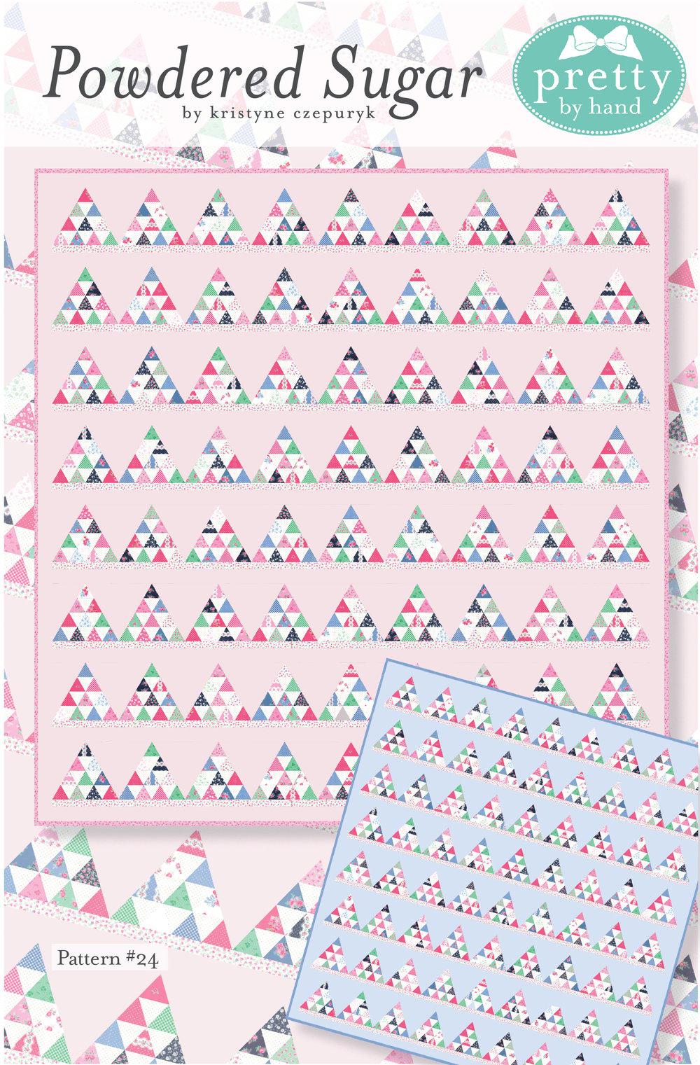Image of PDF - Powdered Sugar Quilt Pattern