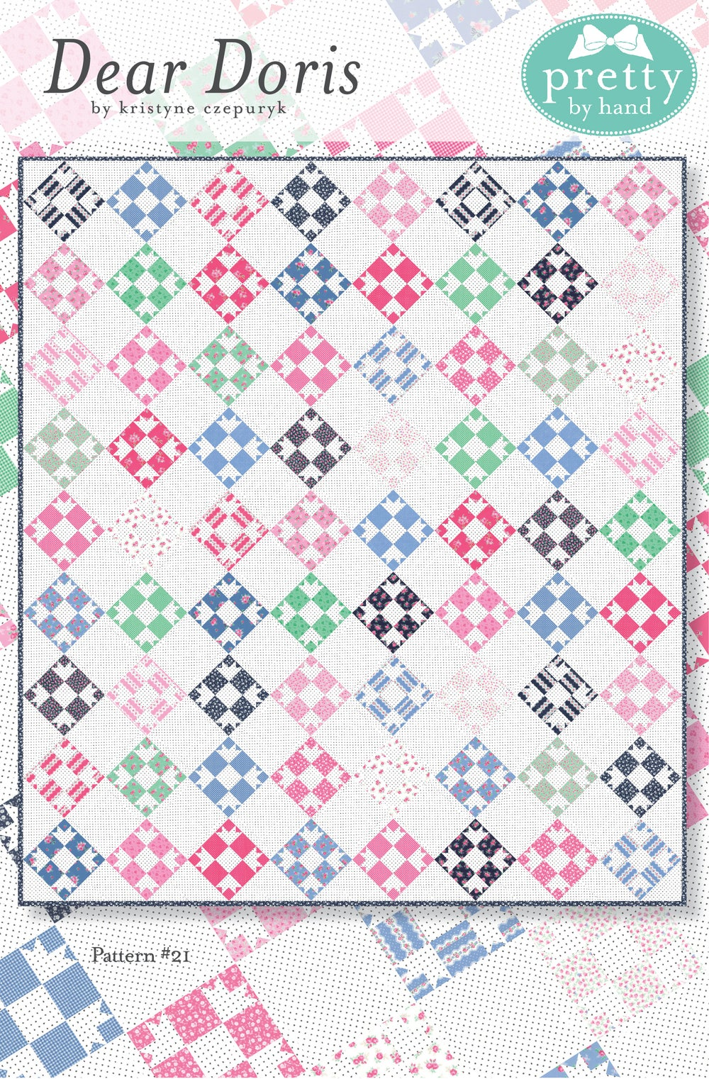Image of PDF - Dear Doris Quilt Pattern