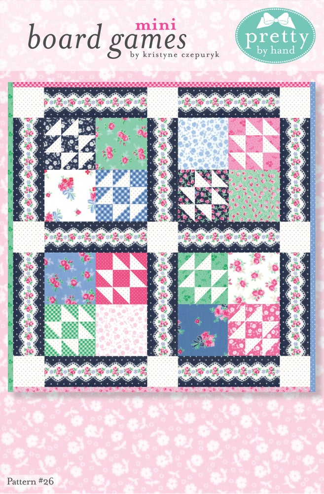 Image of PDF - Board Games Mini Quilt Pattern
