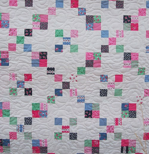 Image of PDF - At the Cottage Quilt Pattern
