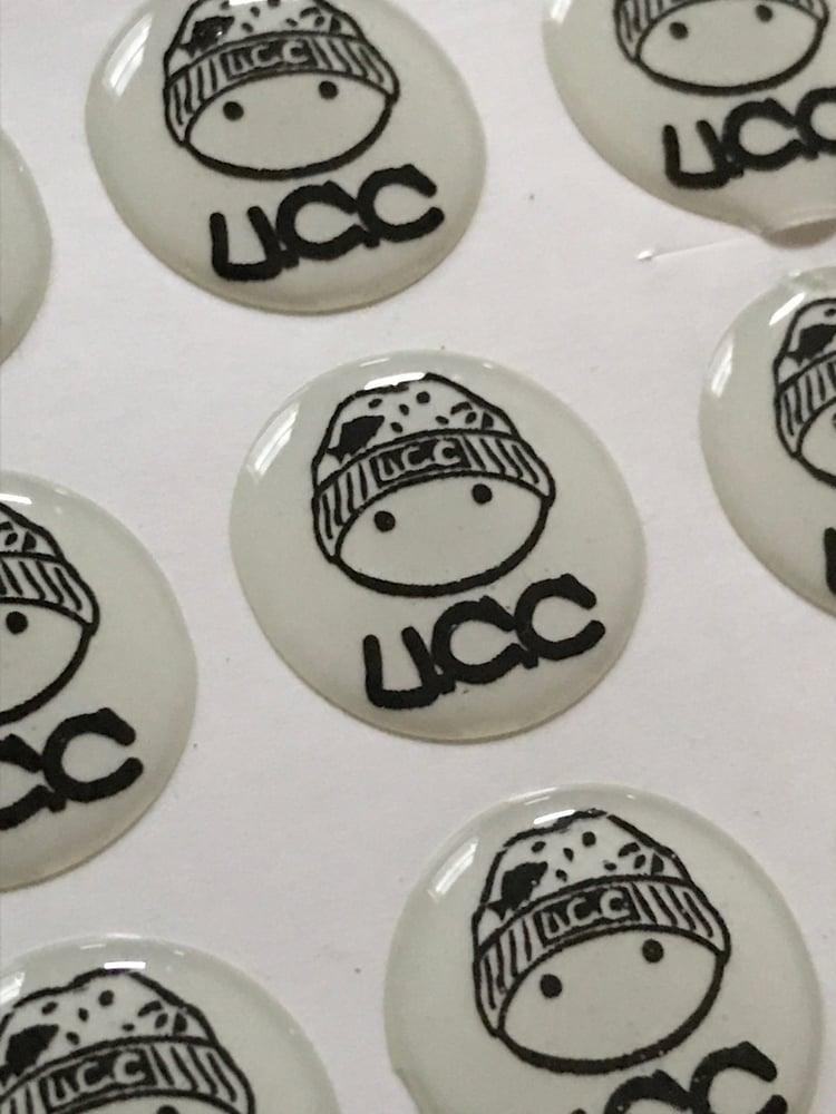 Image of Ucc Glow in the dark Mascot Butt Slaps