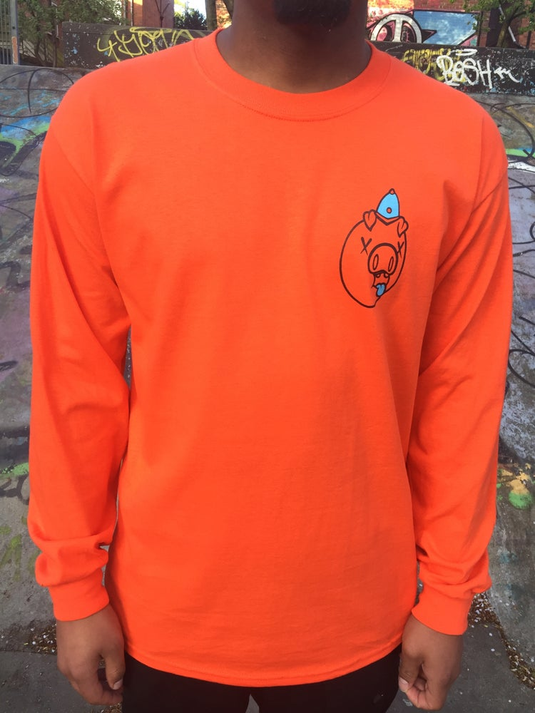 Image of Bluecheese & DredSmc Collabo FTP Orange