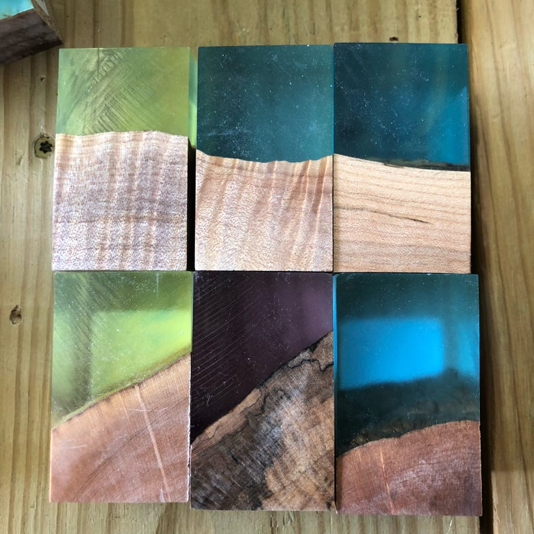 """Image of Simple ShokWood Stopper group 1-1/2"""" x 1-1/2"""" x 2-1/2"""""""