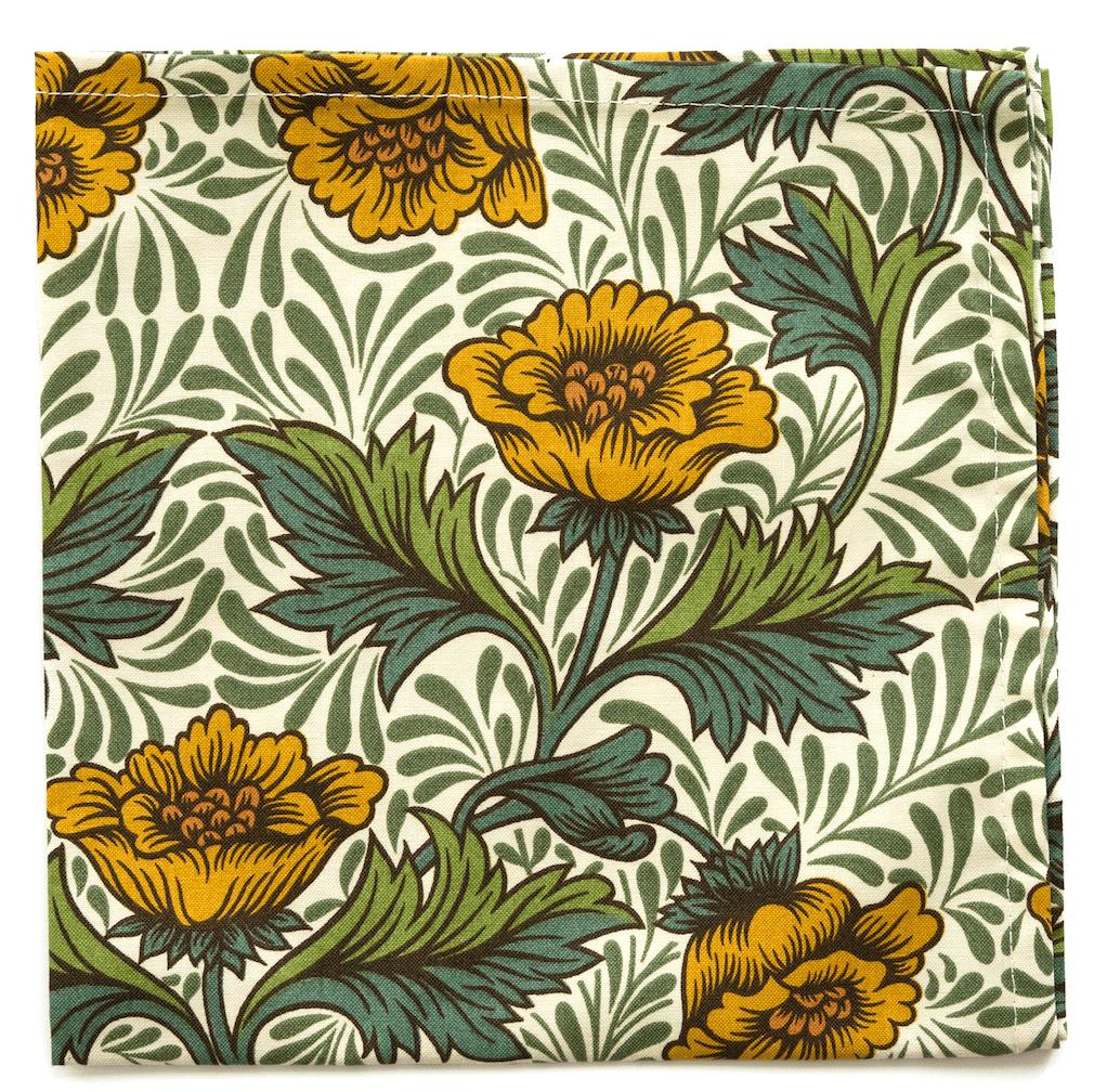 Image of 4 Morris Collection napkins    -   4 Tovaglioli Collezione Morris