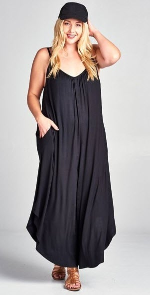 Image of Breezy Wideleg Jumpsuit
