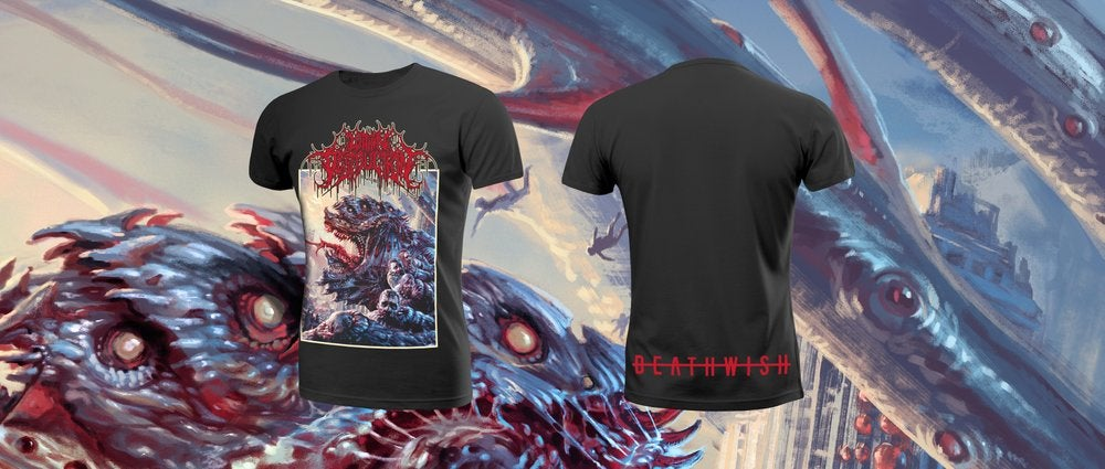 Image of WITHIN DESTRUCTION - D E A T H W I S H  T-Shirt