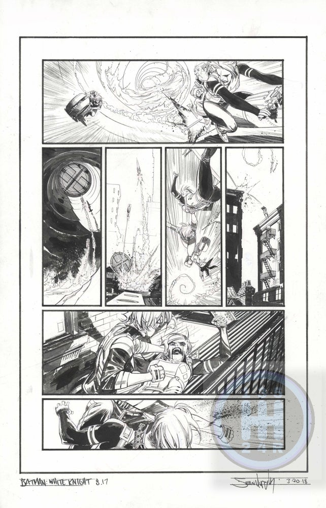 Image of Batman: White Knight Issue 8, page 17