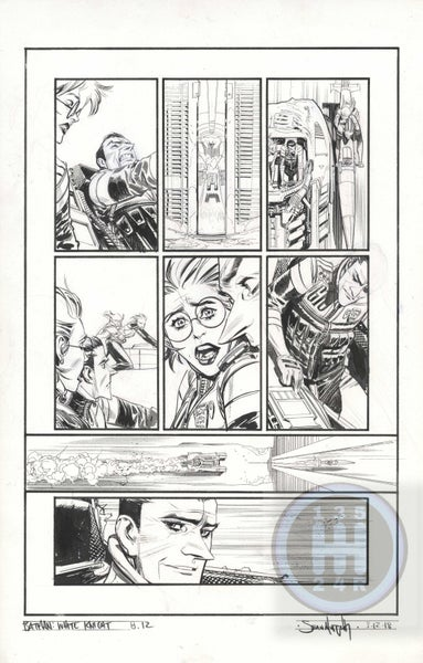 Image of Batman: White Knight Issue 8, page 12