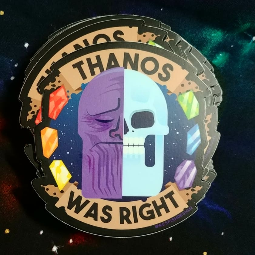 Image of Thanos Was Right