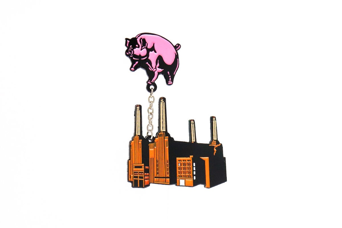 Image of Pink Floyd - 'Animals' Building Enamel Pin