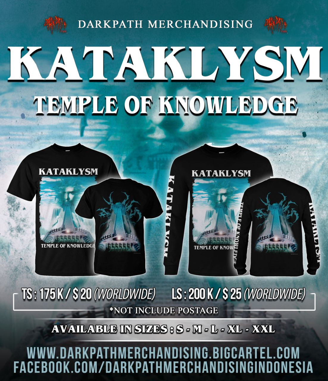 Image of KATAKLYSM - Temple of Knowledge SS & LS