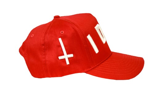 Image of Red Idol Trucker Hat