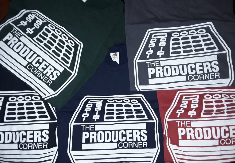 Image of The Producers Corner T-Shirts ($25.00) Long Sleeve T-Shirts (30.00)