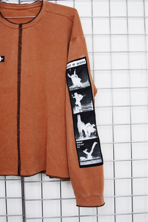 Image of WESTERN SWEATER (WHISKEY ORANGE)