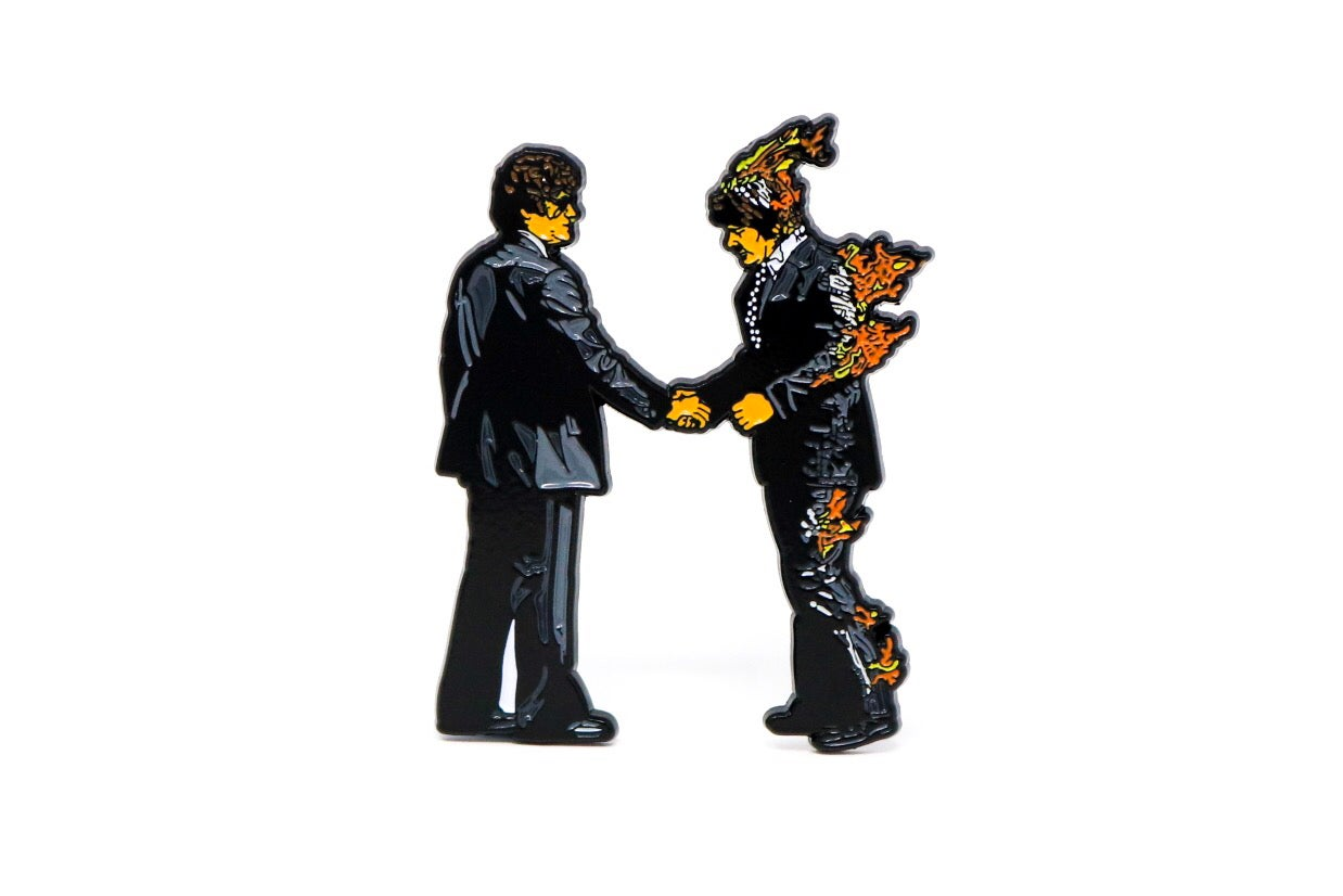 Image of Pink Floyd - Wish You Were Here Enamel Pin