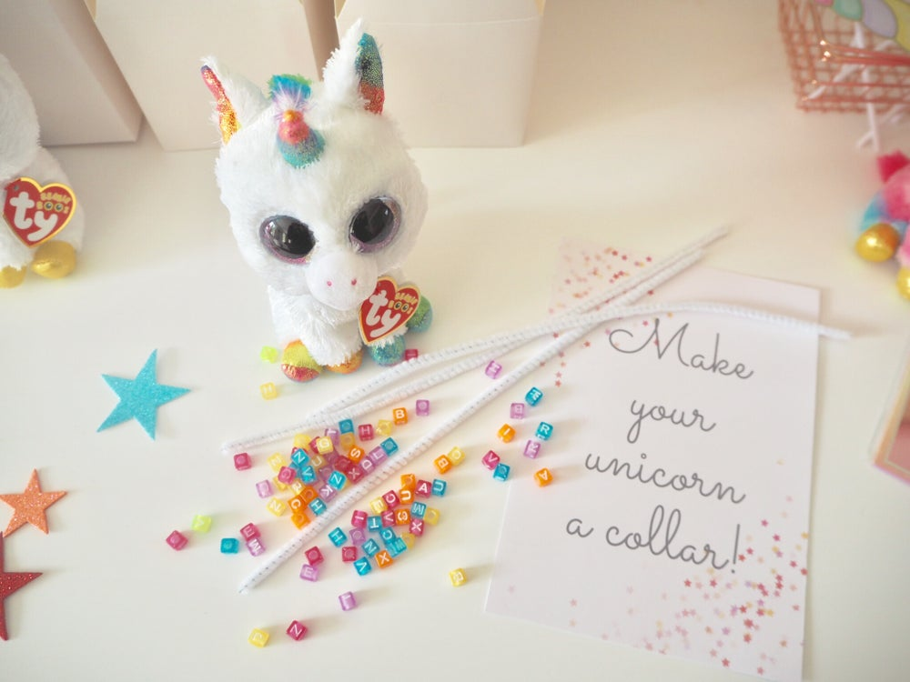 Image of Adopt a Unicorn Party Box Kit
