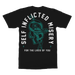 "Image of ""Teal Skull"" Pocket Style T-Shirt"