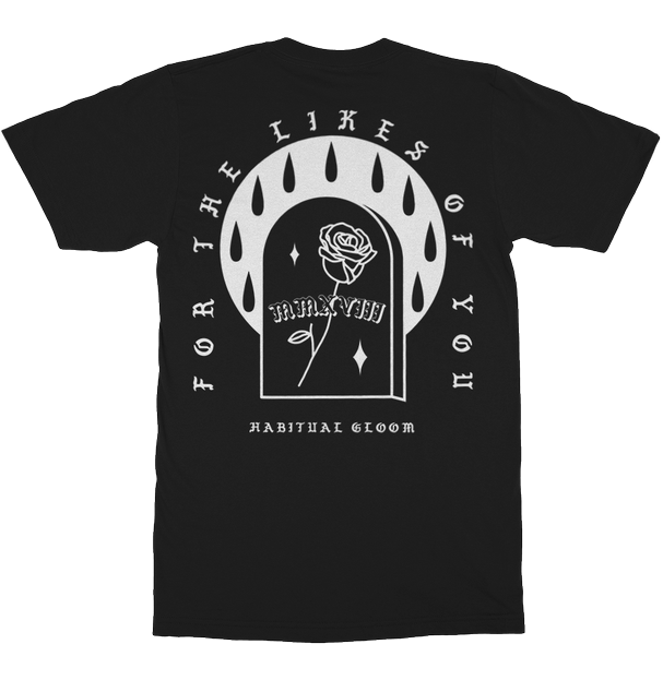 "Image of ""Habitual Gloom"" Pocket Style T-Shirt"