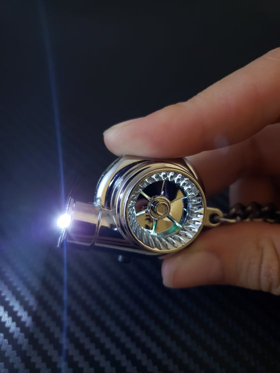 Image of Electric Sound & LED Turbo Key Chain