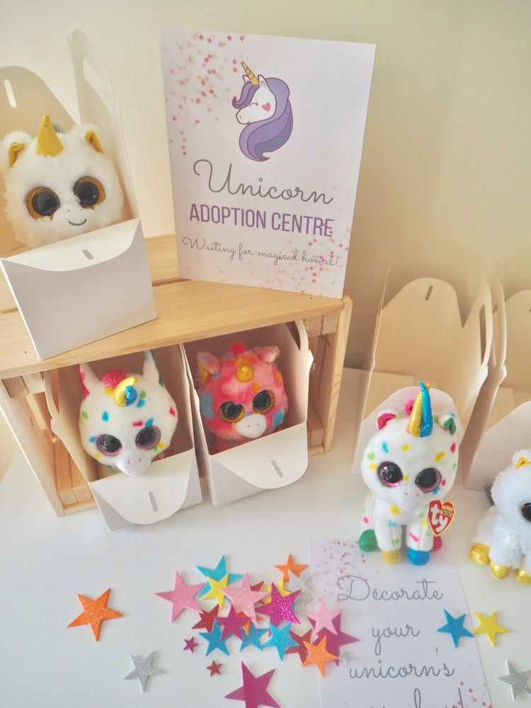 Image of Adopt a Unicorn Party - Activity kit only